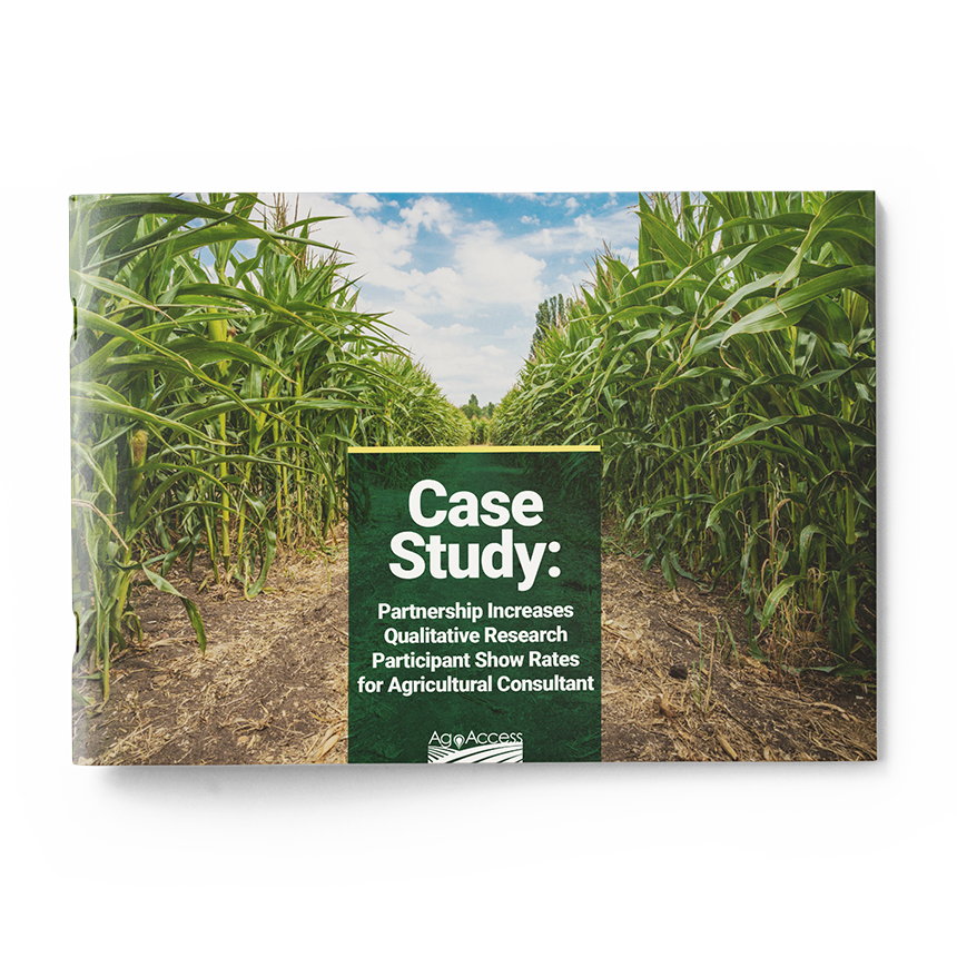 Case Study: Partnership Increases Qualitative Research Participant Show Rates for Agriculture Consultant
